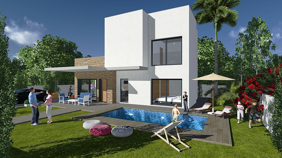 Guardamar costa blanca south spanienvilla for Salon jardin villa charra toluca